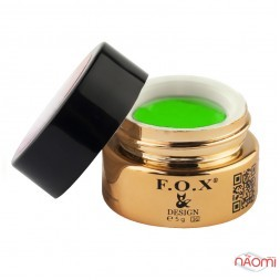 Гель-пластилин F.O.X № 006 зеленый, 5 мл