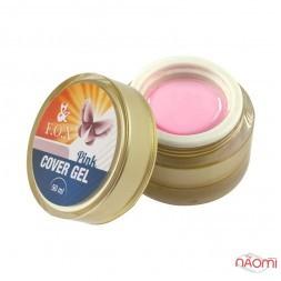 Гель F.O.X. Cover Gel Pink, розовый, 50 мл