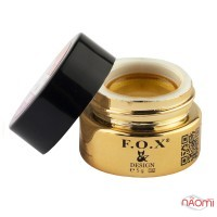 Гель-краска F.O.X. № 005 золото, 5 мл