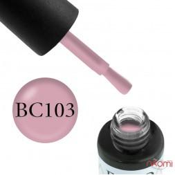 Гель-лак Boho Chic BC 103 теплый розовый, 6 мл