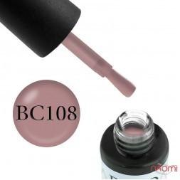 Гель-лак Boho Chic BC 108 карамельно-розовый, 6 мл