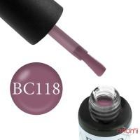 Гель-лак Boho Chic BC 118 розовый виноград, 6 мл