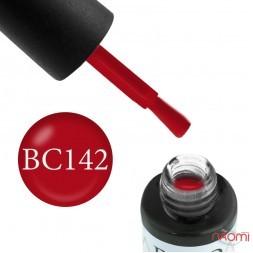 Гель-лак Boho Chic BC 142 красный, 6 мл