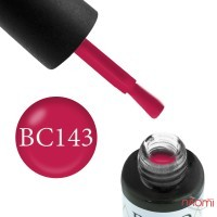 Гель-лак Boho Chic BC 143 малиново-рожевий, 6 мл