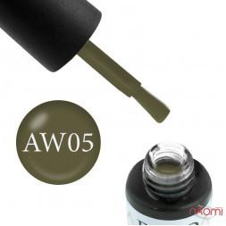 Гель-лак Boho Chic BC A-W 05 оливковый хаки, 6 мл