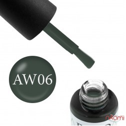 Гель-лак Boho Chic BC A-W 06 глубокий серо-зеленый, 6 мл