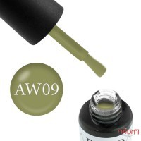 Гель-лак Boho Chic BC A-W 09 оливковый, 6 мл