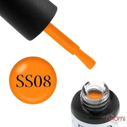 Гель-лак Boho Chic BC S-S 08, тыквенный, с флуоресцентным эффектом, 6 мл, фото 1, 115.00 грн.