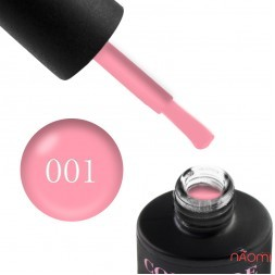 Гель-лак Couture Colour 001 яркий розовый, 9 мл