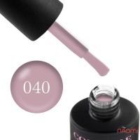 Гель-лак Couture Colour 040 пепельный сиренево-розовый, 9 мл