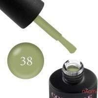 Гель-лак Couture Colour LE 38, оливковый, 9 мл