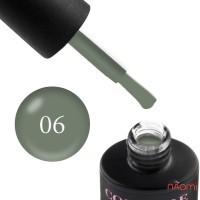 Гель-лак Couture Colour LE 06  теплый серый, 9 мл