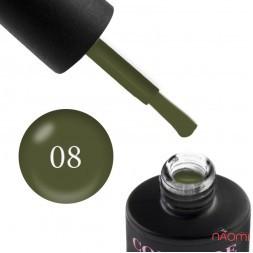Гель-лак Couture Colour LE 08 зеленый хаки, 9 мл