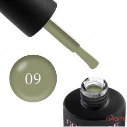 Гель-лак Couture Colour LE 09  нежный оливковый, 9 мл