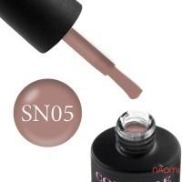 Гель-лак Couture Colour Soft Nude 05 кофейно-бежевый, 9 мл
