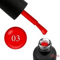 Гель-лак Edlen Professional 003 красный, 9 мл