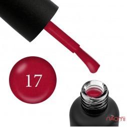 Гель-лак Edlen Professional 017 красное вино с шиммерами, 9 мл