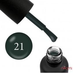 Гель-лак Edlen Professional 021 морской зеленый, 9 мл