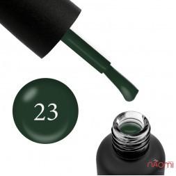 Гель-лак Edlen Professional 023 темно-зеленый, 9 мл
