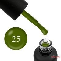 Гель-лак Edlen Professional 025 зеленый хаки, 9 мл