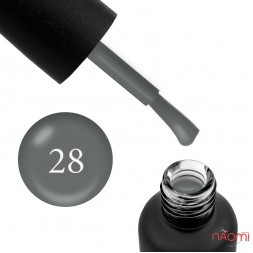 Гель-лак Edlen Professional 028 серый, 9 мл