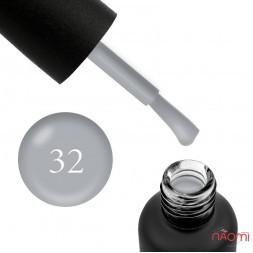 Гель-лак Edlen Professional 032 пепельно-серый, 9 мл