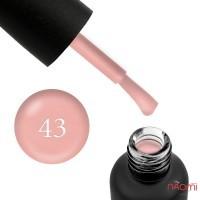 Гель-лак Edlen Professional 043 нежный розово-бежевый с мелкими шиммерами, 9 мл