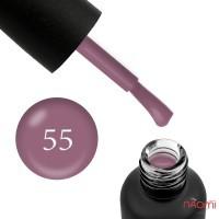 Гель-лак Edlen Professional 055 мягкий коричнево-лиловый, 9 мл