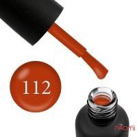 Гель-лак Edlen Professional 112 терракотово-тыквенный, 9 мл