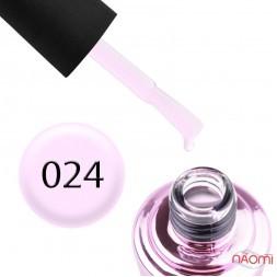 Гель-лак Elise Braun 024 молочный сиренево-розовый, 10 мл