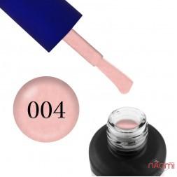 Гель-лак Fayno 004 рожевий з блискітками, 7 мл