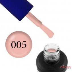 Гель-лак Fayno 005 персиково-рожевий, 7 мл