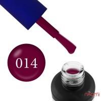 Гель-лак Fayno 014 малиново-вишневий, 7 мл