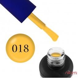 Гель-лак Fayno 018 желтый, 7 мл