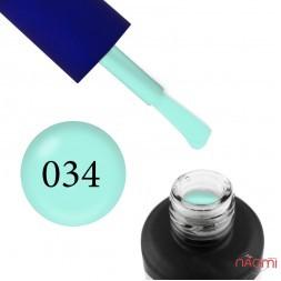Гель-лак Fayno 034 м'ятно-блакитний, 7 мл