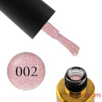 Гель-лак F.O.X Diamond 002 сухая роза с золотистыми шиммерами, 6 мл