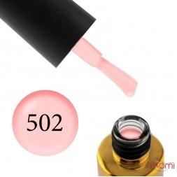 Гель-лак F.O.X Feel The Spring Collection 502 ніжний абрикосово-рожевий, 6 мл
