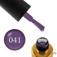 Гель-лак F.O.X Pigment 041 темно-сиреневый, 6 мл