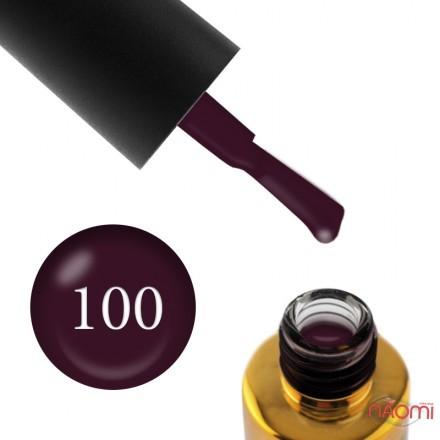Гель-лак F.O.X Pigment 100 темный виноградно-сливовый, 6 мл, фото 1, 105.00 грн.