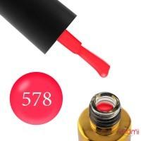 Гель-лак F.O.X Vitamins Vit A 578 неоново-рожева фуксія, 6 мл