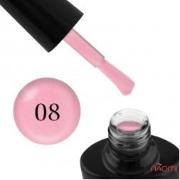 Гель-лак G.La color NEW 008 розовый персик, с перламутром, 10 мл