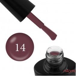 Гель-лак G.La color NEW 014 розовый шоколад, 10 мл