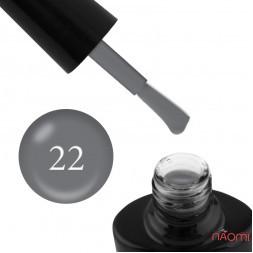 Гель-лак G.La color NEW 022 темно-серый, 10 мл