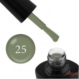 Гель-лак G.La color NEW 025 зеленый хаки, 10 мл