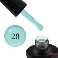 Гель-лак G.La color NEW 028 мятно-бирюзовый, 10 мл
