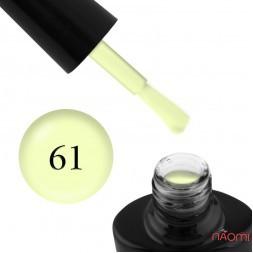 Гель-лак G.La color NEW 061, лимонный, 10 мл