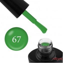 Гель-лак G.La color NEW 067 весняний зелений, 10 мл