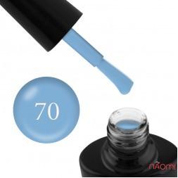 Гель-лак G.La color NEW 070, мягкий голубой, 10 мл