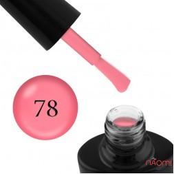 Гель-лак G.La color NEW 078, фламинго, с флуоресцентным эффектом, 10 мл