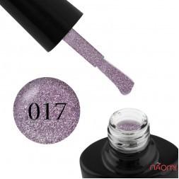 Гель-лак G.La color Illumi Rose 017 сиреневый с блестками, слюдой и легким перламутром, 10 мл